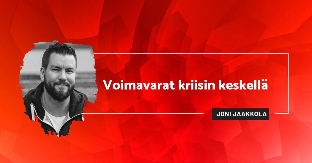 Voimavarat kriisin keskellä - Joni Jaakkola