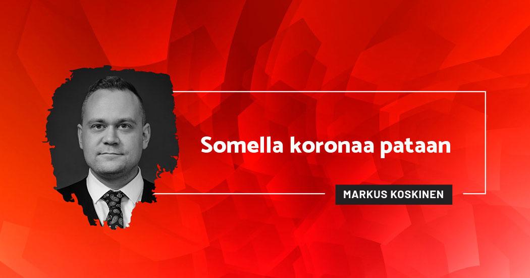 Somella koronaa pataan - Markus Koskinen